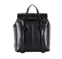 Рюкзак женский кожаный black_1