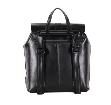 Рюкзак женский кожаный black