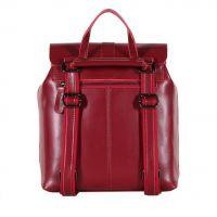 Рюкзак кожаный winered_1