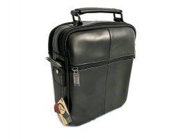 Кожаная мужская сумка Fuzhiniao black_3