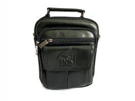 Кожаная мужская сумка Fuzhiniao black_2