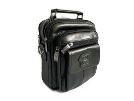 Кожаная мужская сумка Fuzhiniao black_0