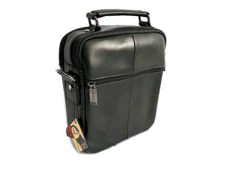 Кожаная мужская сумка Fuzhiniao black