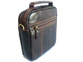 Кожаная мужская сумка Brown_1