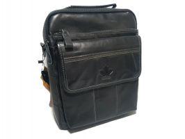 Кожаная сумка через плечо Canada 6002 black