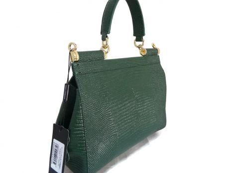 Сумка женская D & G (Дольче Габбана) green