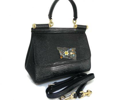 Сумка женская Dolce & Gabbana (Дольче Габбана) 6259 black