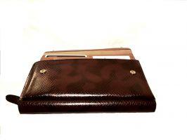 Кожаный клатч LasFero 1861-111CD3_2
