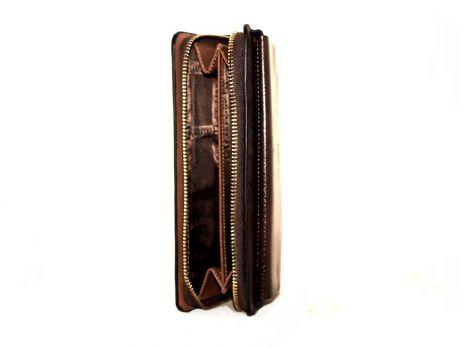 Кожаный клатч LasFero 1861-111CD3