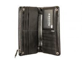 Кожаный кошелёк-клатч Hassion H-025b_2