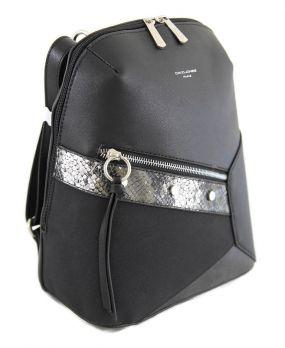 Рюкзак женский черный David Jones 6238-2