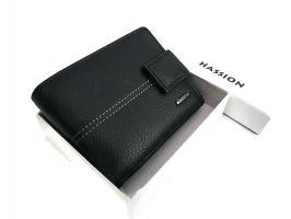 Кошелёк кожаный Hassion 209-1 black_3