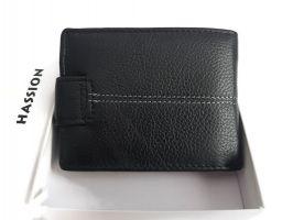 Кошелёк кожаный Hassion 209-1 black_1