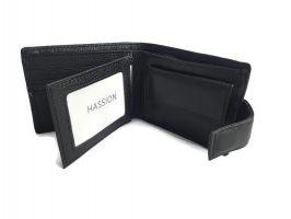 Кошелёк кожаный Hassion 209-1 black_2