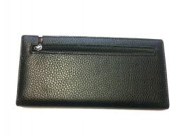Кожаный мужской клатч Hassion 17-6608 black_2