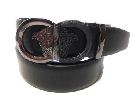 Ремень кожаный брендовый Vr 373