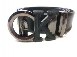 Ремень кожаный брендовый CK_1