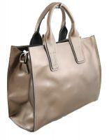 Женская кожаная сумка NN 6172 Бронза