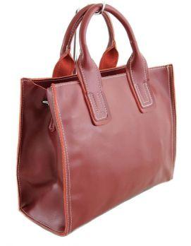 Женская кожаная сумка NN 6172 Бордовый