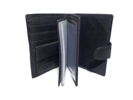 Кожаный Портмоне с отделением под паспорт