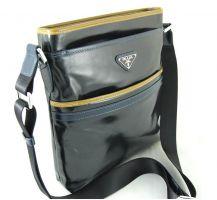 Кожаная мужская сумка Prada