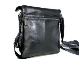 Кожаная мужская сумка Boss Hugo Boss_1