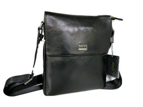 Кожаная мужская сумка Boss Hugo Boss