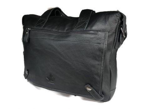 Мужская кожаная деловая сумка Canada 6736