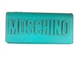 Кошелёк женский кожаный Moschino (Москино)_0