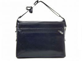 Кожаная мужская сумка 1806-2-168 Black_2