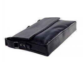 Кожаная мужская сумка 1806-2-168 Black_3