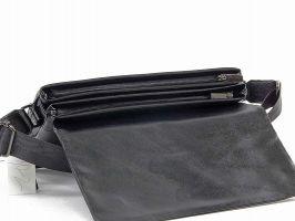 Кожаная мужская сумка 1806-2-168 Black_4