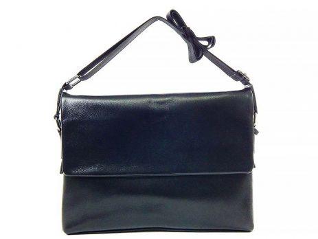 Кожаная мужская сумка 1806-2-168 Black