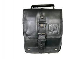 Мужская кожаная сумка Fuzhinino 99211 black_1