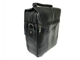 Мужская кожаная сумка Fuzhinino 99211 black_4