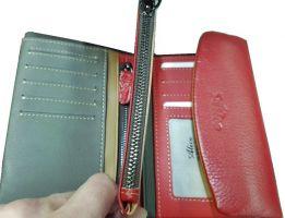 Кошелёк женский кожаный Alice 30-9933 red_2