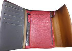 Кошелёк женский кожаный Alice 30-9933 red_1