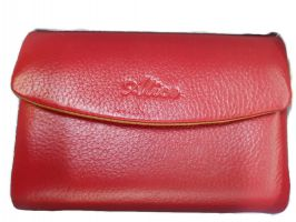 Кошелёк женский кожаный Alice 30-9933 red_3
