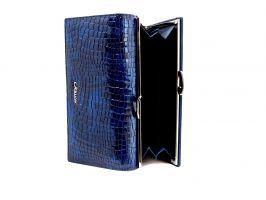 Кожаный женский кошелек Hassion 72031-47202bl