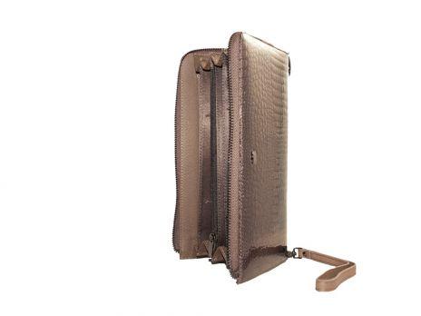 Кожаный женский клатч-кошелёк Alice 27-3023gr