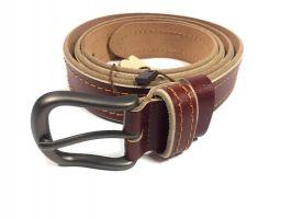 Модный ремень женский кожаный RW-3100br_3