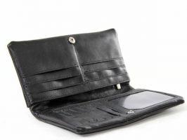 Клатч мужской кожаный NN 110 black_2