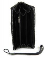 Клатч мужской кожаный AJ 66229 Black_2