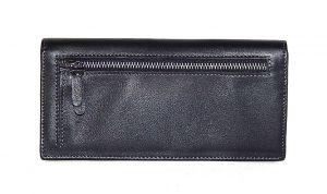 Кожаный клатч Hassion H-061 black_1