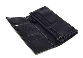 Кожаный клатч Hassion H-061 black_2