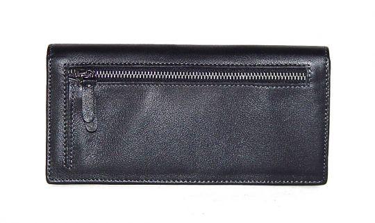 Кожаный клатч Hassion H-061 black