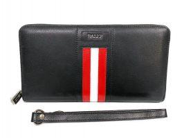 Кожаный клатч Bally 8873 black_1