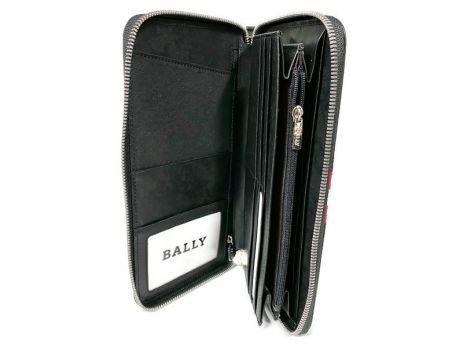 Кожаный клатч Bally 8873 black