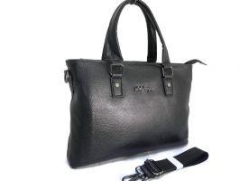 Портфель-сумка из кожи Salvatore Ferragamo 66174 Black_0