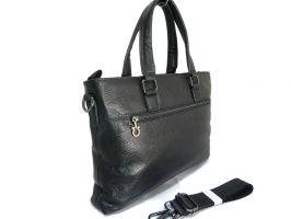 Портфель-сумка из кожи Salvatore Ferragamo 66174 Black_1